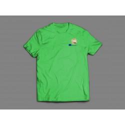 Erasmus+ T-Shirt grün